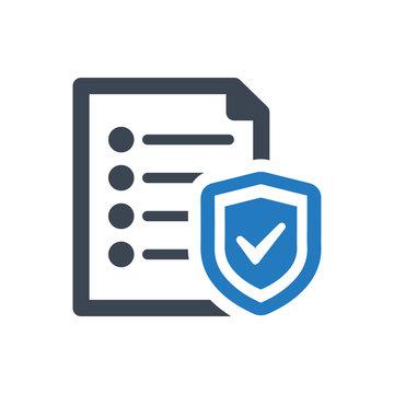 Document Insurance Icon