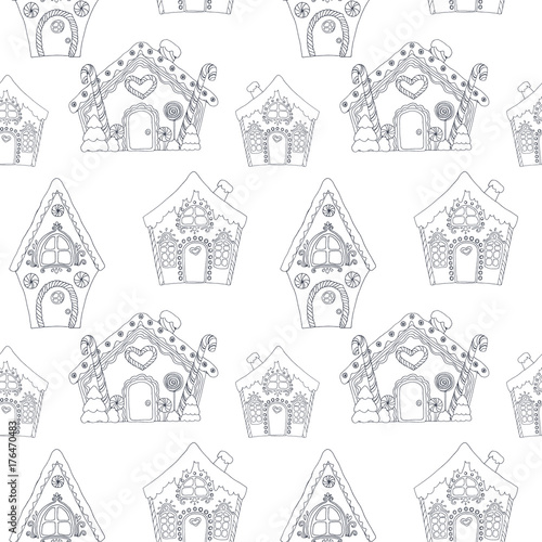 christmas coloring pages pattern