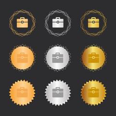 Koffer - Business - Bronze, Silber, Gold Medaillen