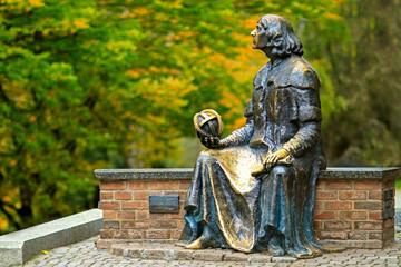 pomnik Mikołaja Kopernika ,Olsztyn,Polska