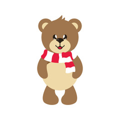 cartoon cute bear