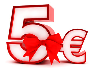 5,- Euro