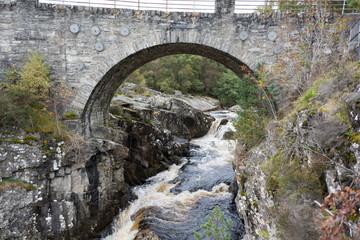 Bridge at Silverbridge over Black Water river