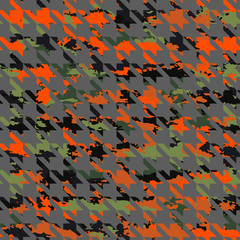 Vector pattern camouflage