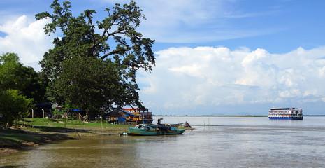 croisière sur l' Irrawaddy