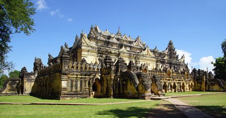 temple bouddhiste d'ava