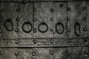 Antique Iron Gate Background