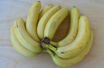 Photo of Beautiful Yellow Ripe Bananas