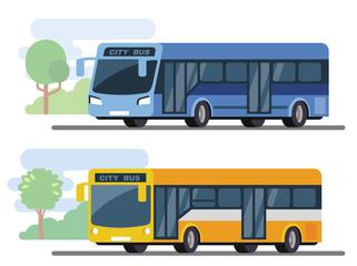 City public bus.
