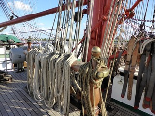 Segelschiff in Wilhelmshaven