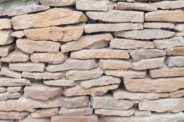 stone wall without cement