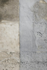 Detail of worn paint on urban wall, Paris, France
