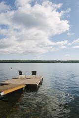 Maine |  Dock | Summer