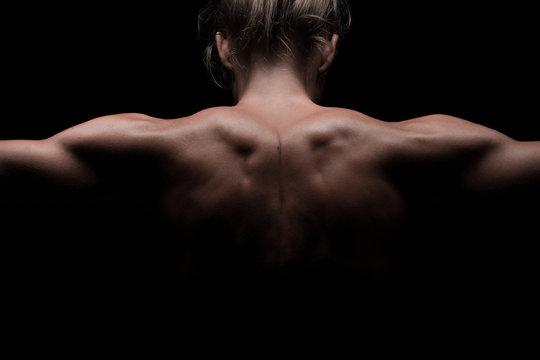 weibliche trainierte Schultern, Lowkey