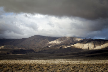 Death Valley clouds