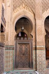 Medersa (Koranschule) in der Medina von Fes, Marokko