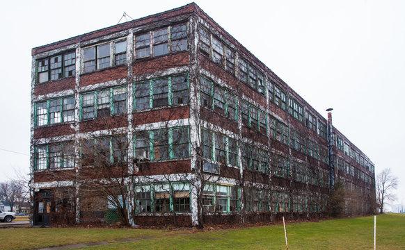 Walker Power Building Before Demolition and Remodling