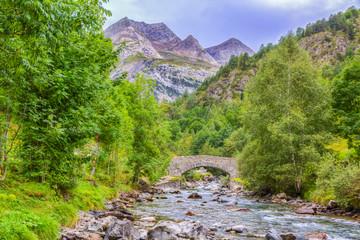 The River Gave de Gavarnie