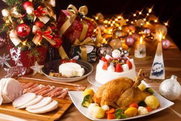 クリスマスパーティー クロスフィルター
