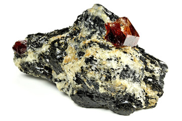 zircon nestled in bedrock found in Gilgit/ Pakistan