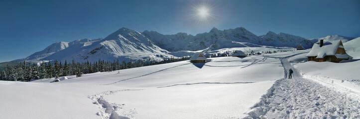 Fototapeta Hala Gasienicowa Panorama