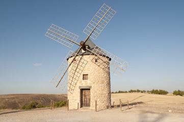 Windmill in Spain: Belmonte, Castilla la Mancha
