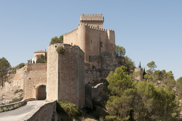 Castle of Alarcon in Cuenca, Castilla la Mancha, Spain