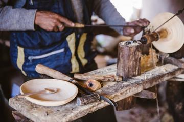 Peru Holzkunst