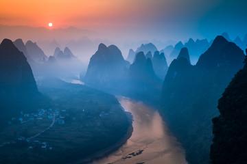 Canvas Prints Hill Xianggong Hill, Guilin