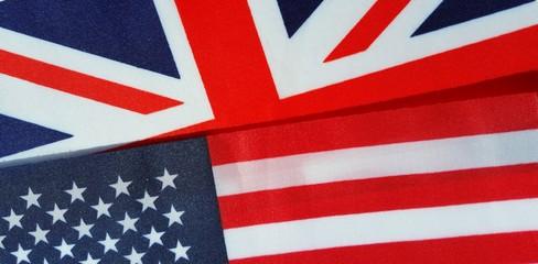 P02888 us usa american and uk union jackFlag background