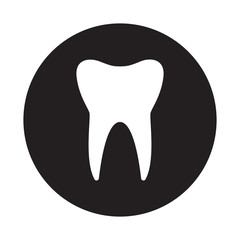 Graphic tooth icon