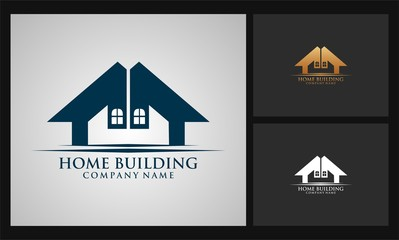 home icon building logo