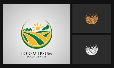 home landscape agriculture logo