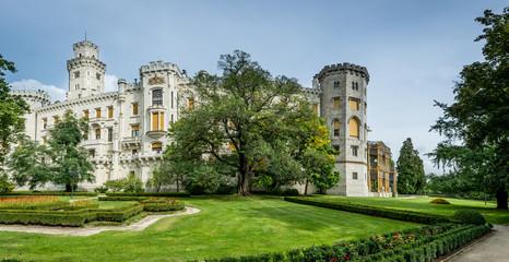 Czech castle Hluboka