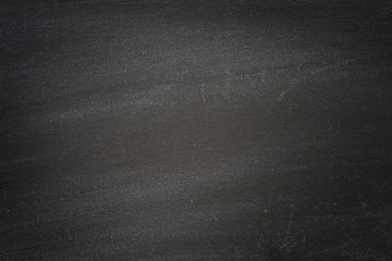 empty black chalkboard for education background