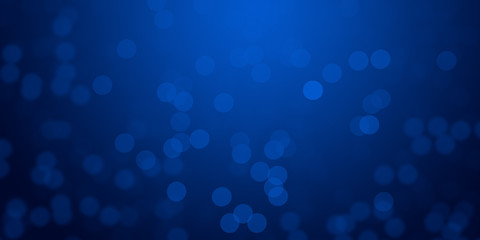 Blue Christmas blur lights background wallpaper