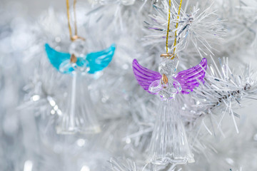 Christmas decorations angels