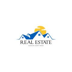 Real Estate Logo Vector Art