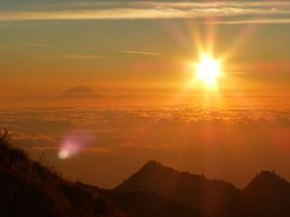 Sunset on Lombok, Indonesia