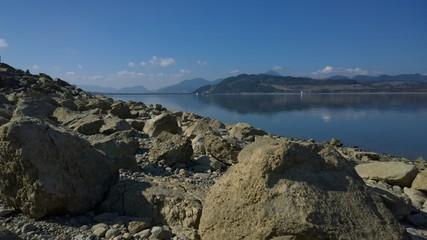 Water reservoir lake