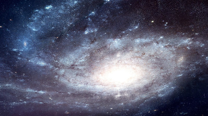 Space Galaxy Low Angle