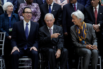 IMF Governors family photo