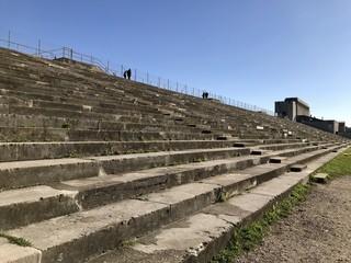 Stufen am Zeppelinfeld in Nürnberg-Dutzendteich (Bayern)