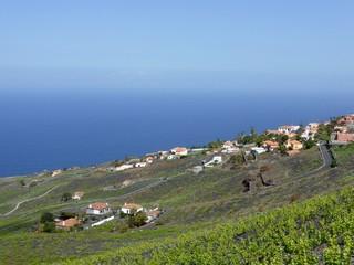 Coast of the island of La Palma, one of the Canary Islands
