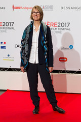 French Culture Minister Francoise Nyssen attends the Opening evening of the Lumiere 2017 Grand Lyon Film Festival, in Lyon
