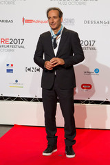 Composer Alexandre Desplat attends the opening of the Lumiere 2017 Grand Lyon Film Festival in Lyon