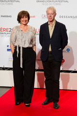 Directors Anne Le Ny and Philippe Le Guay attend the opening of the Lumiere 2017 Grand Lyon Film Festival in Lyon