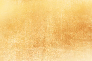 Gold abstract background or texture and gradients shadow