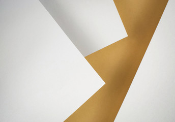 composition of ocher white papers