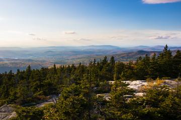 New England mountain view